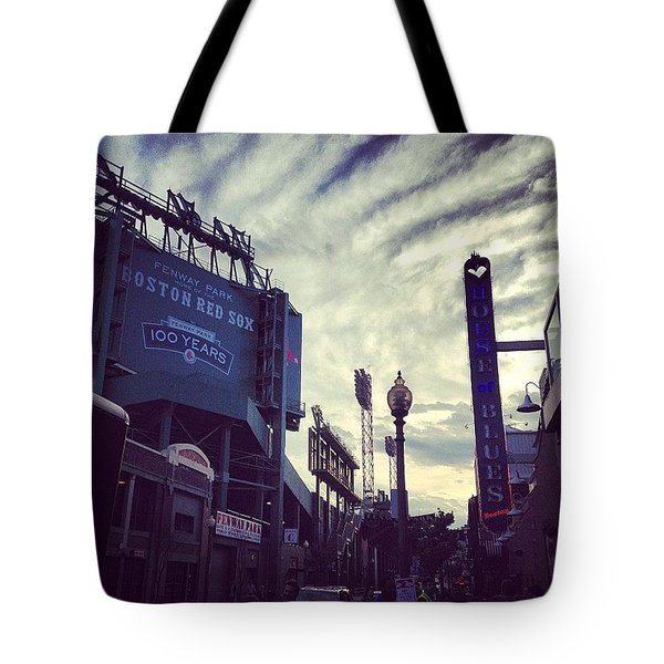 A Fine Night Is Upon Us #beantown Tote Bag