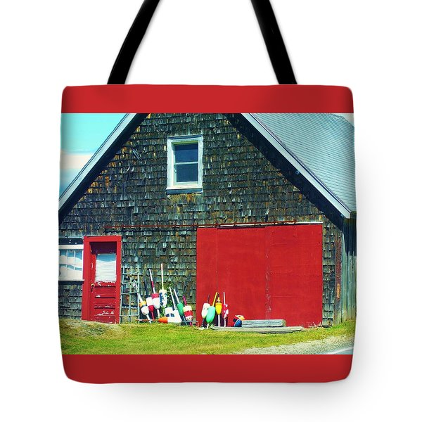 A Fisherman's Barn Tote Bag