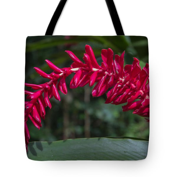 A Flair For Drama Floral Tote Bag