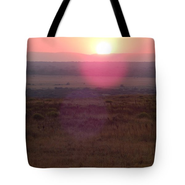 A Flare From South Africa Tote Bag by Patrick Murphy