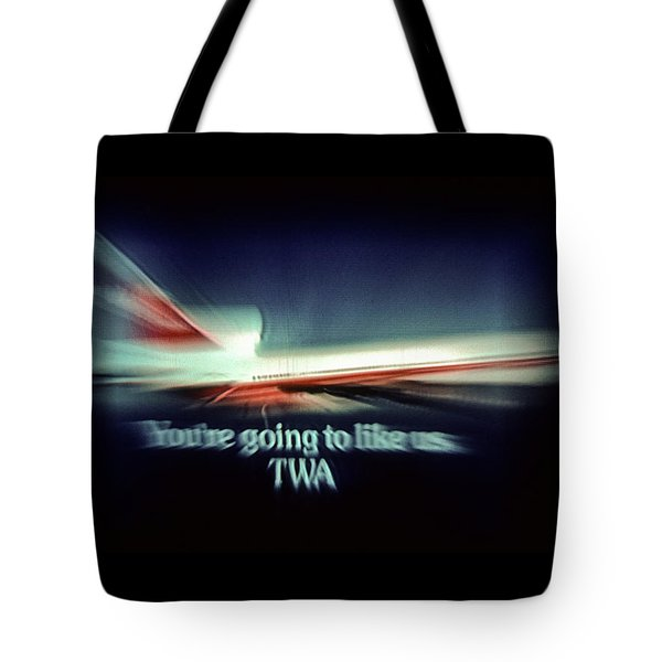 A Flight From The Past Tote Bag