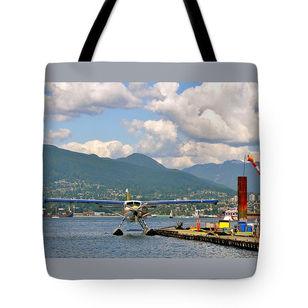 A Float Plane Tote Bag
