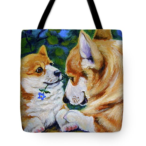 A Flower For Mom Tote Bag