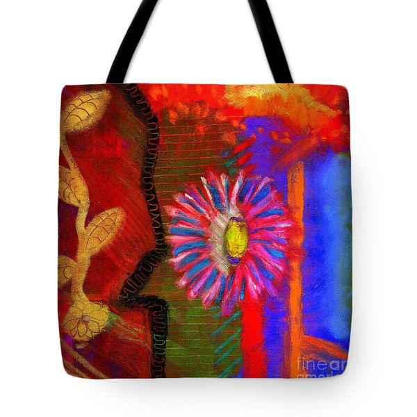 A Flower For You Tote Bag by Angela L Walker
