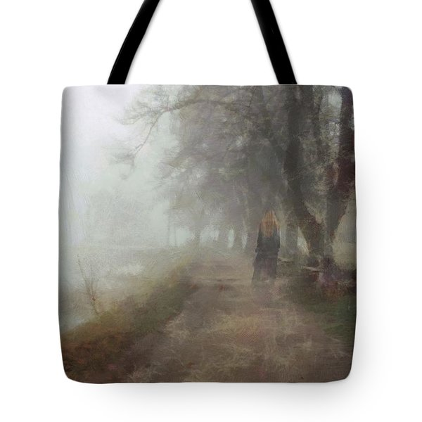 A Foggy Day Tote Bag