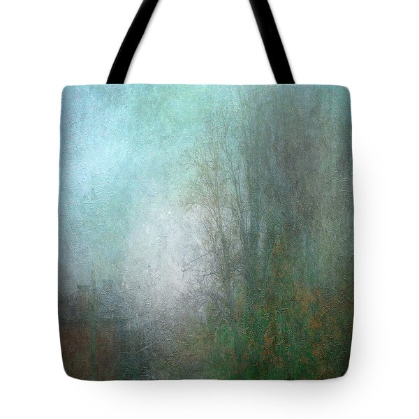 A Foggy Start Tote Bag