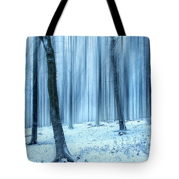 A Forest In Winter Tote Bag