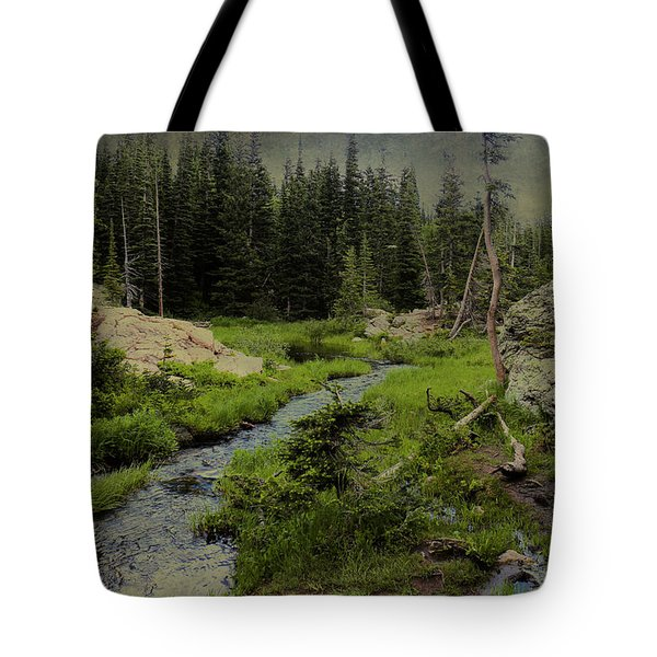 A Forest Of The Rockies Tote Bag by Scott Kingery
