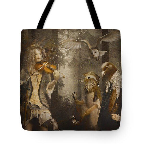 A Forest Overture Tote Bag by Rosemary Smith