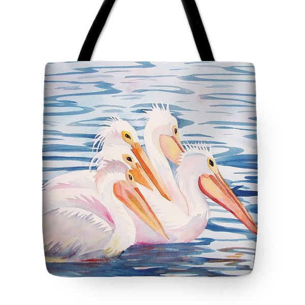 A Foursome Tote Bag by Martha Ayotte