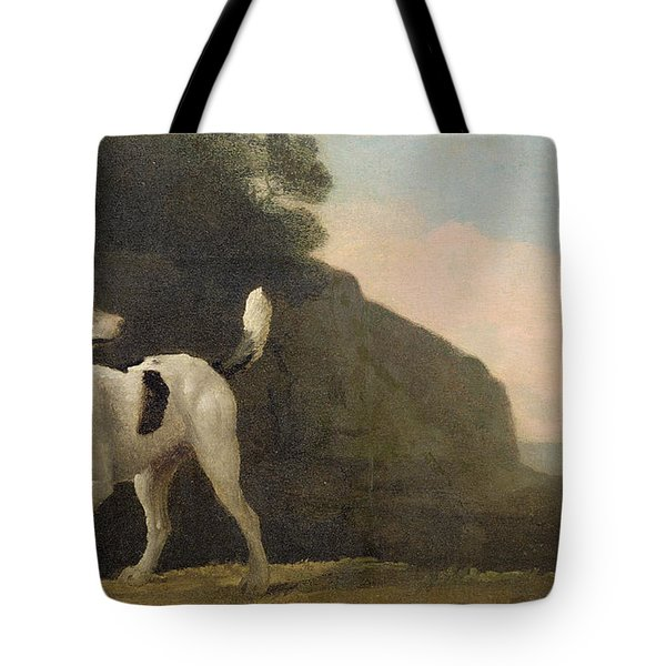 A Foxhound Tote Bag by George Stubbs