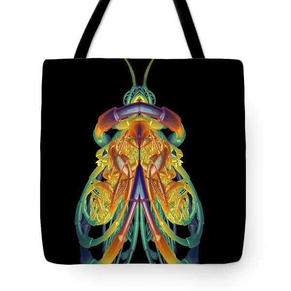 A Fractal Bug Tote Bag