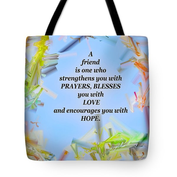 A Friend Tote Bag