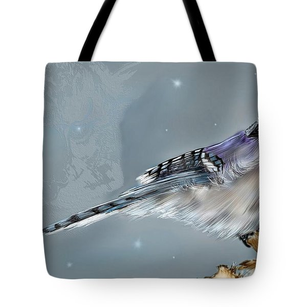 Tote Bag featuring the digital art A Friend For Lunch Three by Darren Cannell