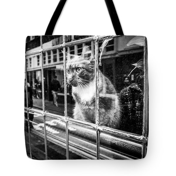 A Friend I Met While Street-shooting Tote Bag by Aleck Cartwright
