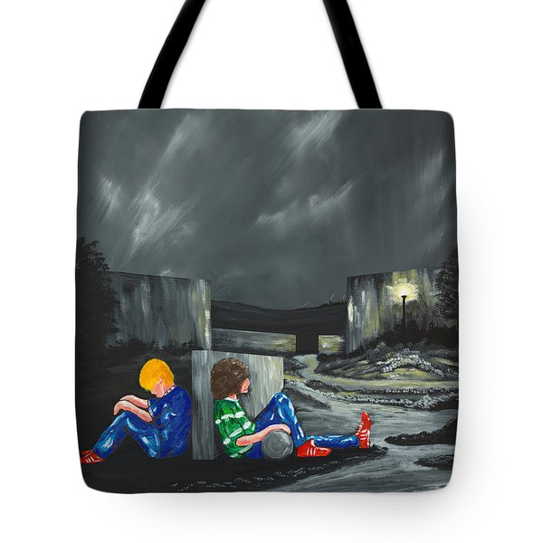 A Game Of Two Divides Tote Bag