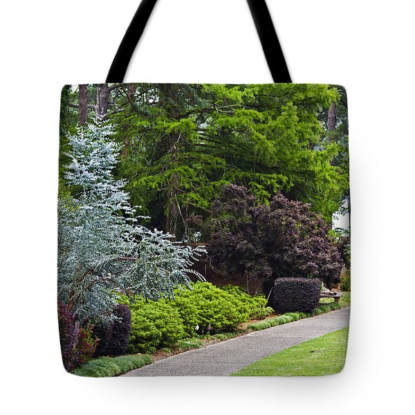 A Garden Walk Tote Bag