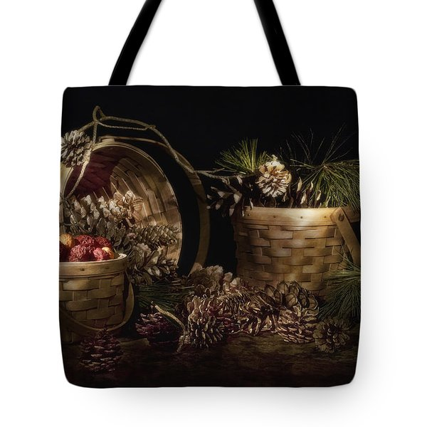 A Gathering Of Pine Tote Bag