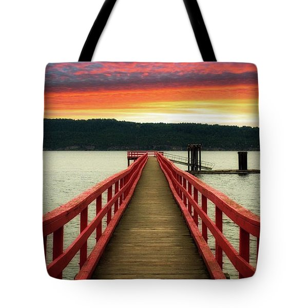 A Gentle Evening Tote Bag