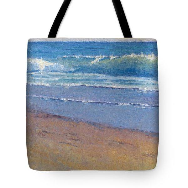 Gentle Wave / Crystal Cove Tote Bag