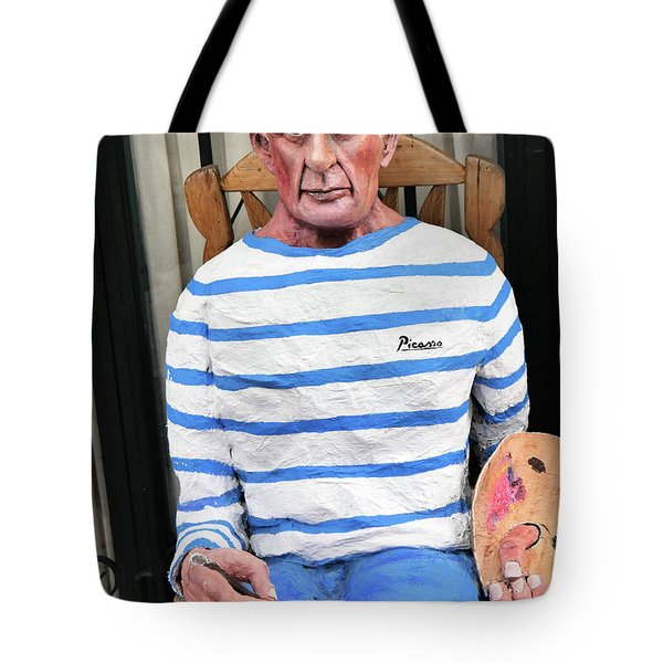 A Giant Of Spanish Art Tote Bag