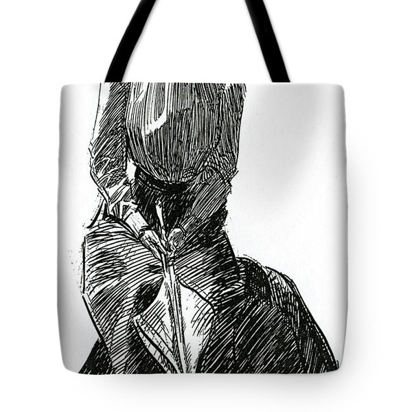 A Gibson Girl With Parasol Tote Bag