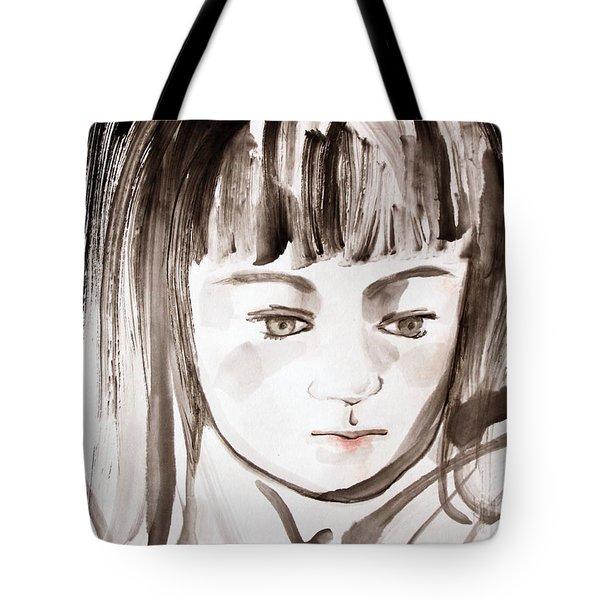 A Girl Tote Bag
