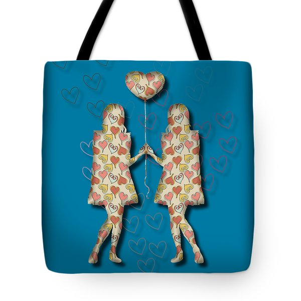 A Girl Loves A Girl Tote Bag