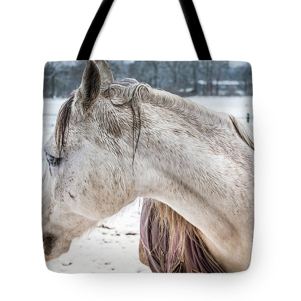 A Girlfriend Of The Horse Amigo Tote Bag