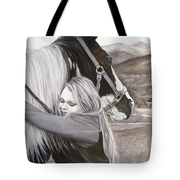 A Girls Best Friend Tote Bag