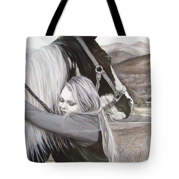 A Girls Best Friend Tote Bag
