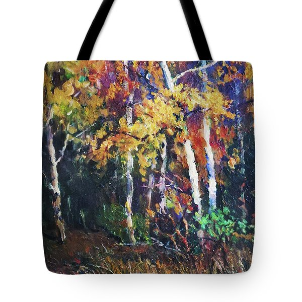 A Glance Of The Woods Tote Bag