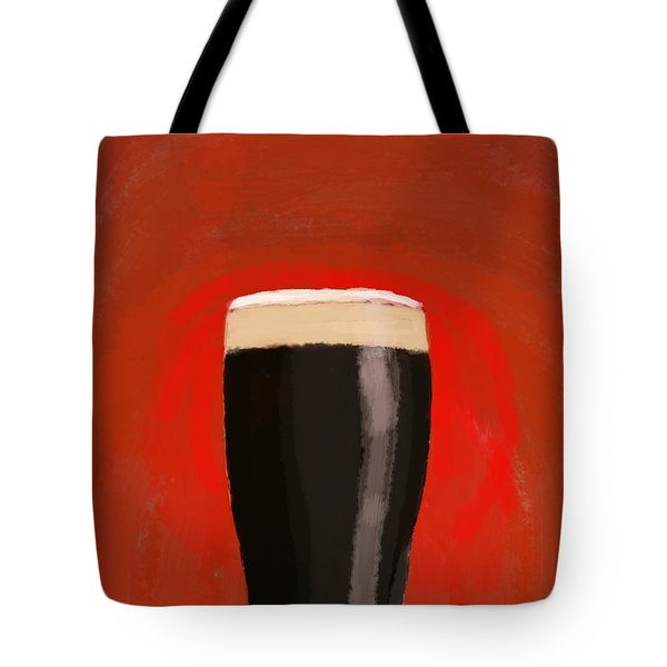 A Glass Of Stout Tote Bag