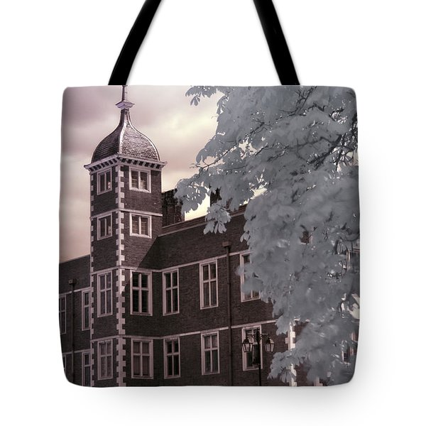 Tote Bag featuring the photograph A Glimpse Of Charlton House, London by Helga Novelli