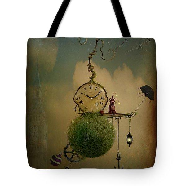 A Glitch In Time Tote Bag