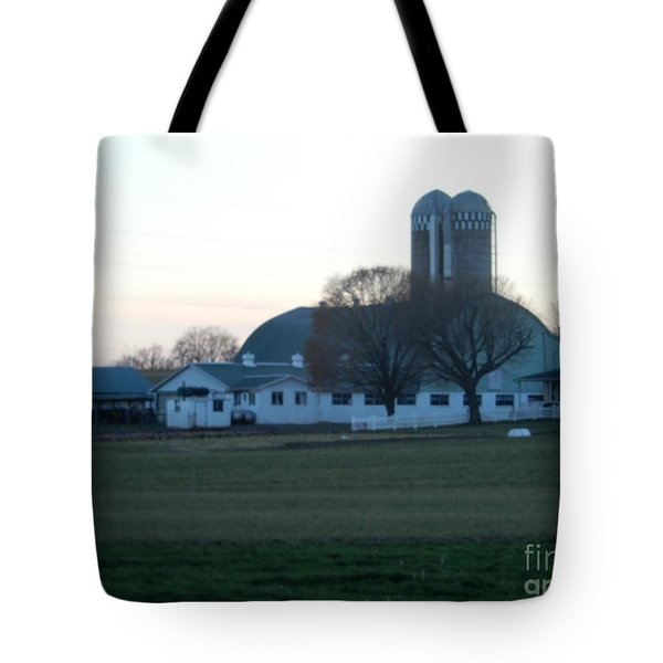 A Glorious Amish Evening Tote Bag