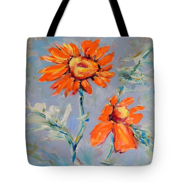 A Glow Tote Bag by Mary Schiros