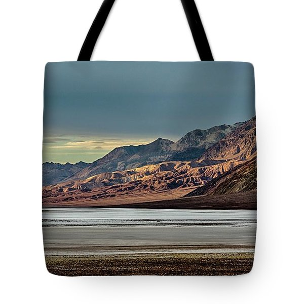 A Glow On The Amargosa Range Tote Bag