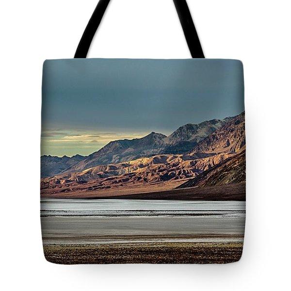 A Glow On The Amargosa Range Tote Bag