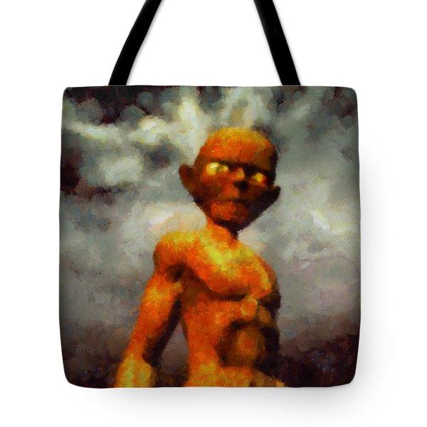 A Gollum Tote Bag