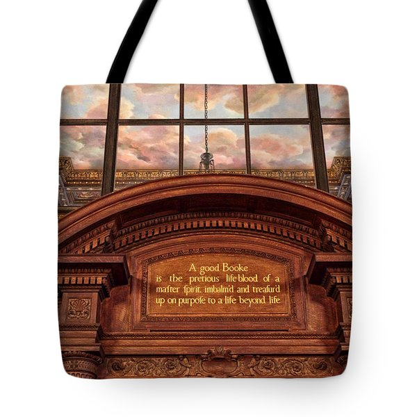 Tote Bag featuring the photograph A Good Book by Jessica Jenney