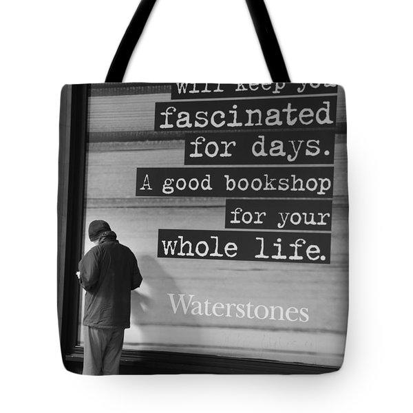 A Good Book Tote Bag