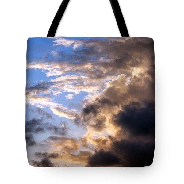 Tote Bag featuring the photograph a Good Morning by Allen Carroll