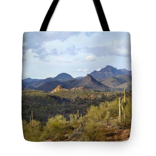 A Good View Tote Bag