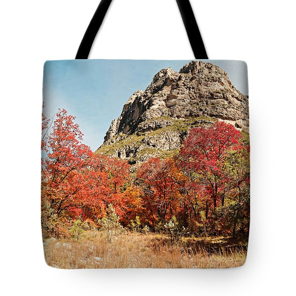 A Gorgeous Day For A Hike Deep In Mckittrick Canyon - Guadalupe Mountains National Park - West Texas Tote Bag