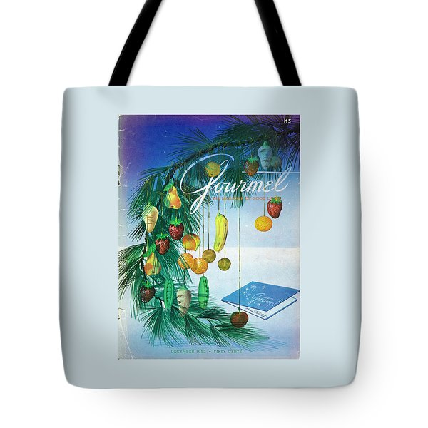 A Gourmet Cover Of Marzipan Fruit Tote Bag