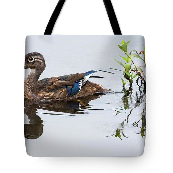A Graceful Swim Tote Bag