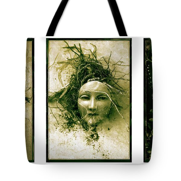 A Graft In Winter Triptych Tote Bag