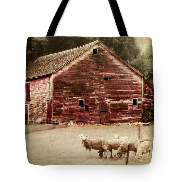 A Grazy Day Tote Bag by Julie Hamilton