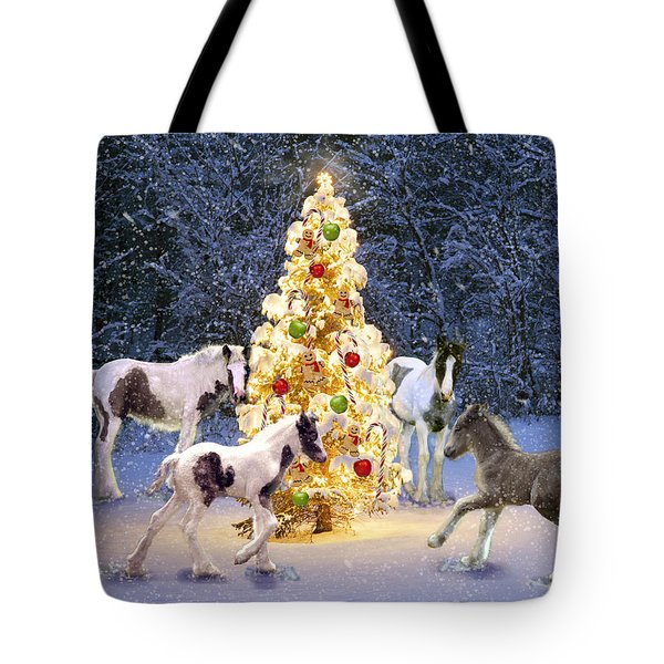A Gypsy Christmas Tree Tote Bag